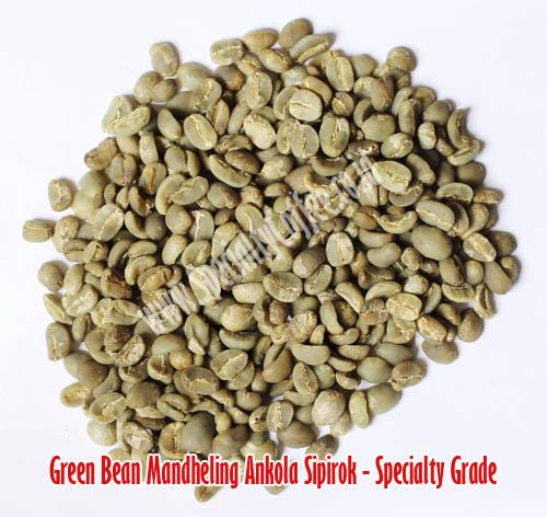 green bean mandheling sipirok